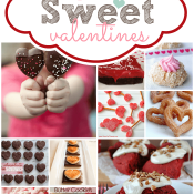 Over 50 SWEET Valentines for all of your sweet hearts ♥  #valentines #dessert #recipes
