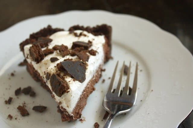 chocthinmint pie