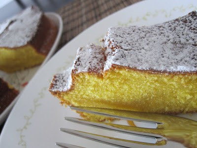 mango cardamom pound cake