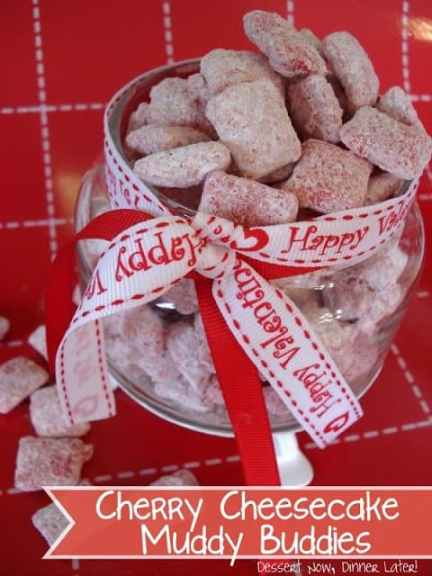 Cherry Cheesecake Muddy Buddies4