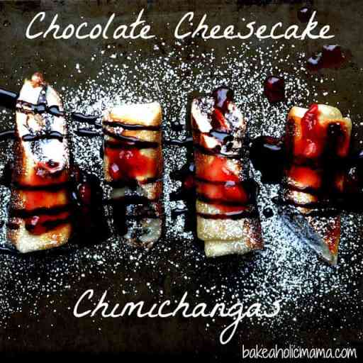 Chcolate Cheesecake Chimichangas