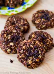 sallys.skinny.Chocolate-Peanut-Butter-Banana-No-Bake-Cookies-5
