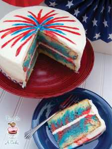 bird.on.a.cake.4th of July Fireworks Cake