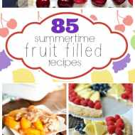 85 Yummy Fruit Filled Summertime Desserts | www.somethingswanky.com