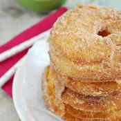 Easy Cinnamon Sugar Fritters using #Pillsbury Grands biscuits!