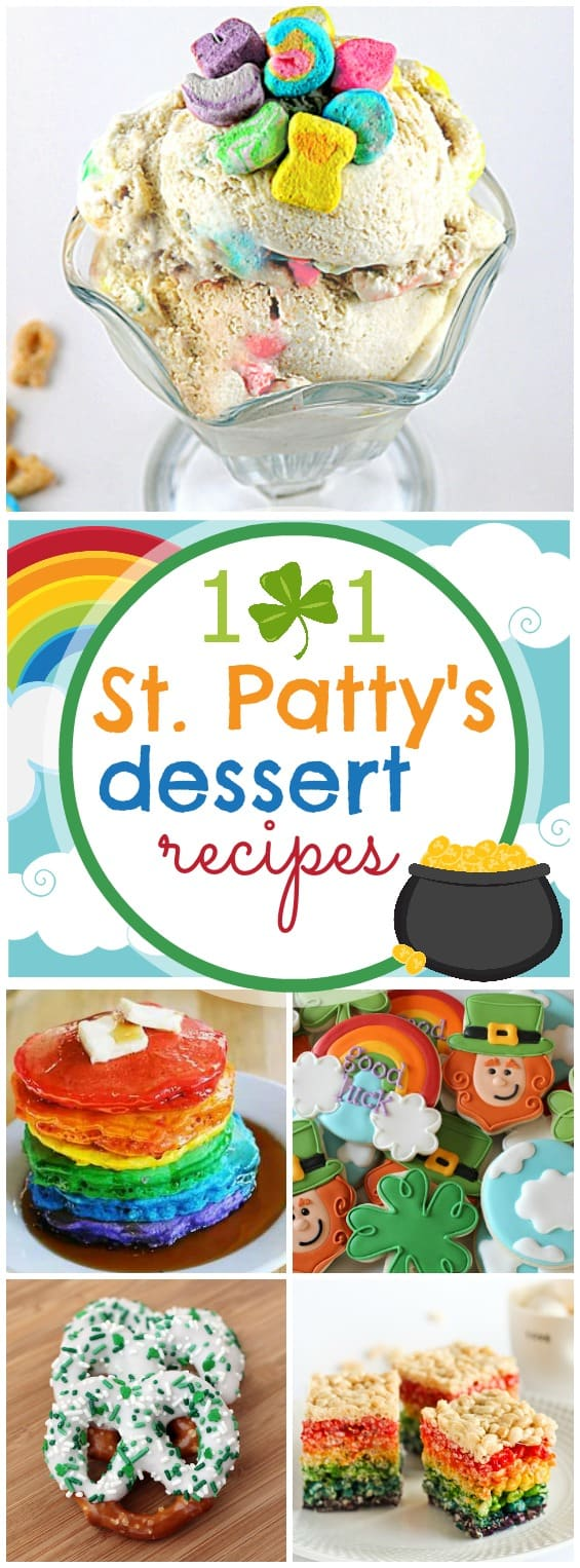 101 St. Patrick's Day Desserts | www.somethingswanky.com