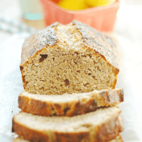 Lemon Poppyseed Banana Bread | www.somethingswanky.com