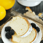 Lemon Pound Cake | www.somethingswanky.com