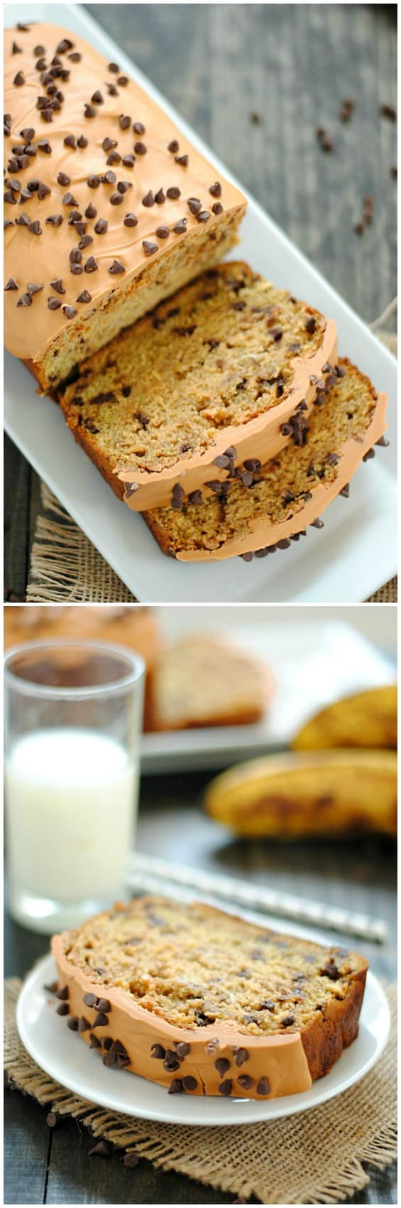 Scotcheroo Banana Bread | www.somethingswanky.com