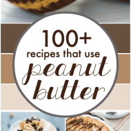 100+ Recipes that use Peanut Butter | www.somethingswanky.com