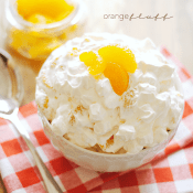 Orange Fluff Recipe | www.somethingswanky.com