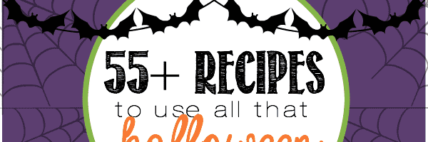 55+ Recipes that Use all that Halloween Candy