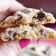 These Hershey's Soft & Chewy Chocolate Chip Cookies are the softest cookies I've made yet! Still soft 5 days later.