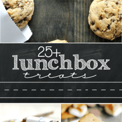 25+ Lunchbox Treats for Back to School
