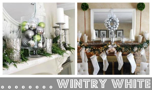 Christmas Mantel Decorating Ideas - christmas mantel decor