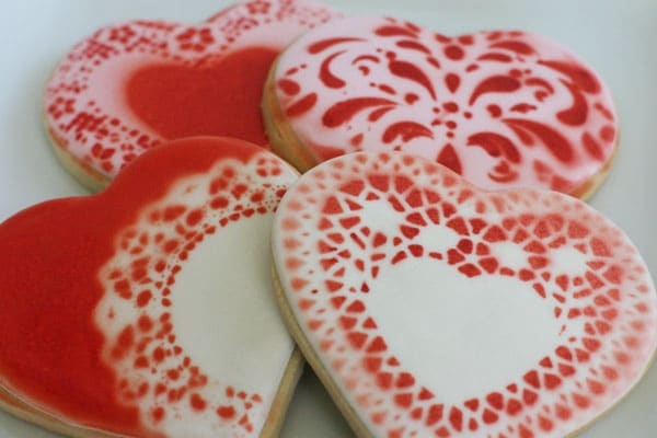 conversation heart cookies 6
