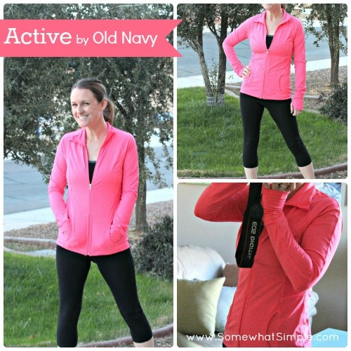 old navy active wear