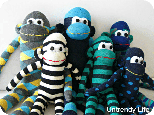 sewing tutorials sock monkeys