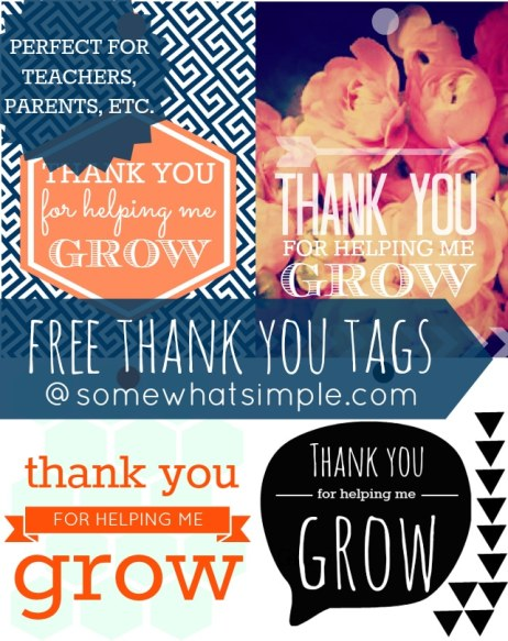 TY for helping me grow free printables