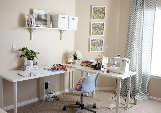 Sewing Room Somewhat Simple