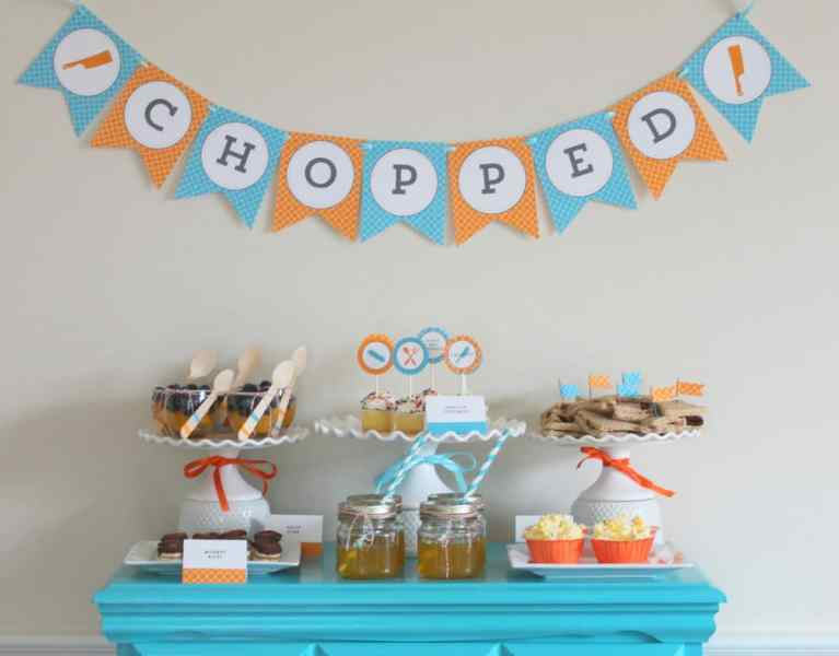 Chopped Party Mirabelle Creations.3