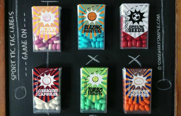 sports tic tac labels main