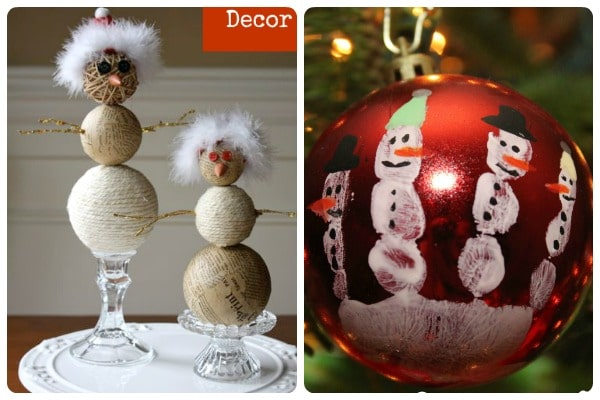Snowman Treats and Crafts 4