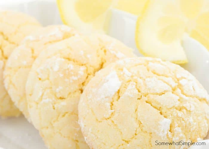 Lemon Drop Cookies From A Cake Mix