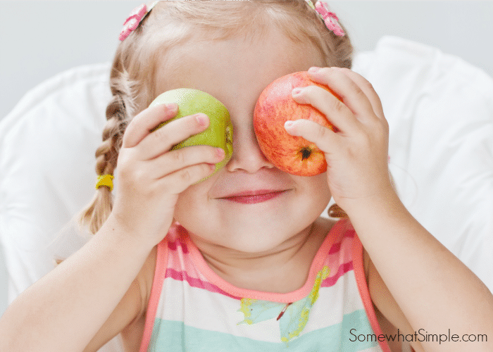 Get your kids involved in snack time preparation