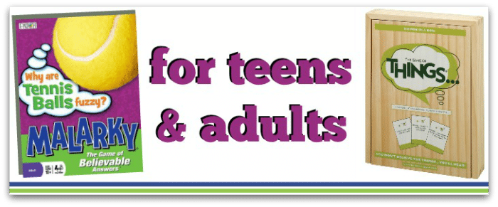 games for teens