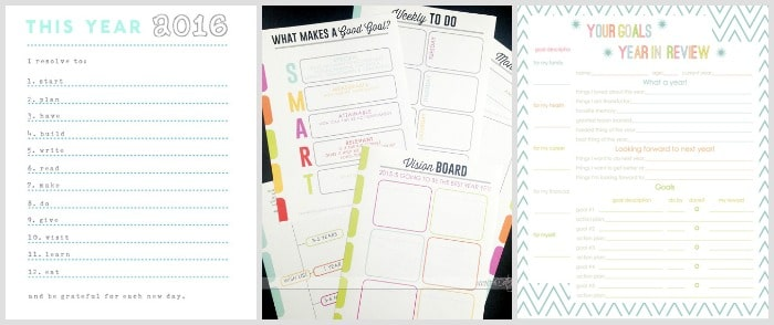New Years Resolution Printables 3