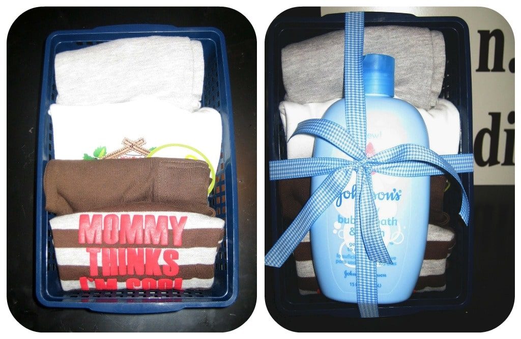 Creative Baby Shower Gift Wrapping Idea By Somewhat Simple