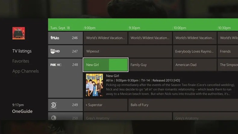 OneGuide_TV Listings_US