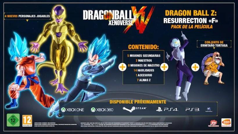 Dragon ball xenoverse pack 3