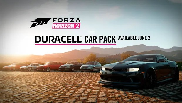 Duracell Car Pack Forza Horizon 2