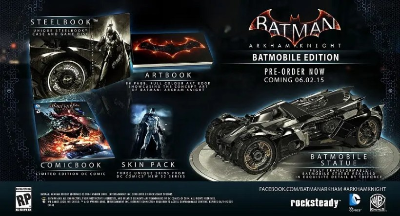 batman batmovil edition