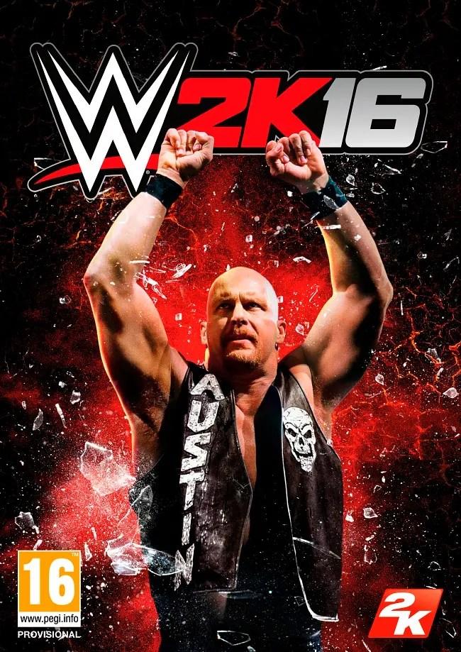 WWE2k16 cover SomosXbox