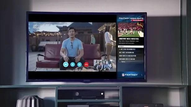 Xbox-One-TV-Advert-Skype-NFL