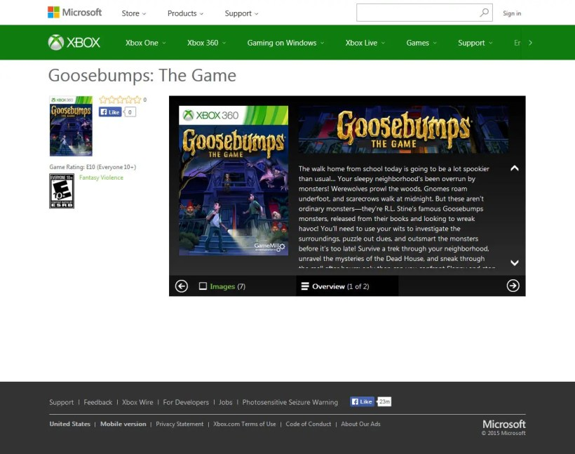 goosebumps-the-game-xbox-store