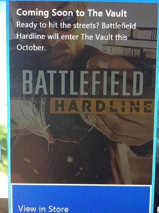BattlefieldHardlineVault