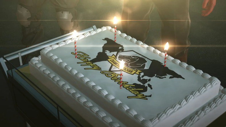 Metal Gear Solid V: The Phantom Pain te deseará feliz cumpleaños