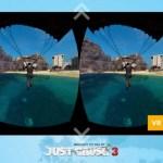 Hoy se ha lanzado la app de Realidad Virtual The Wingsuit Experience de Just Cause 3