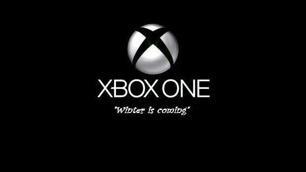 Xbox one, winter is coming