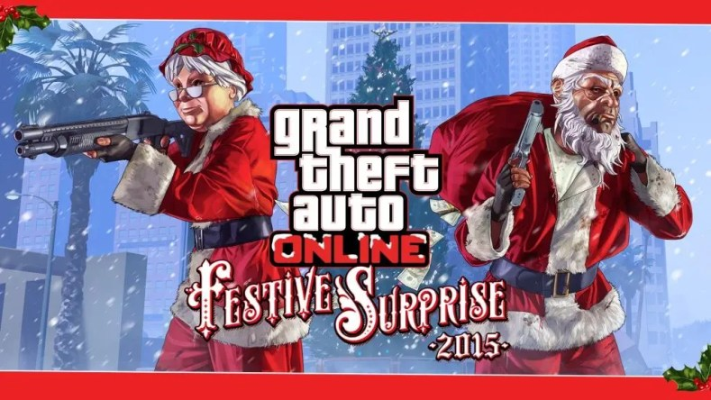Festive Surprise 2015 GTa Online