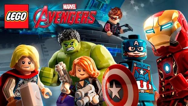 Lego Marvel AVengers portada