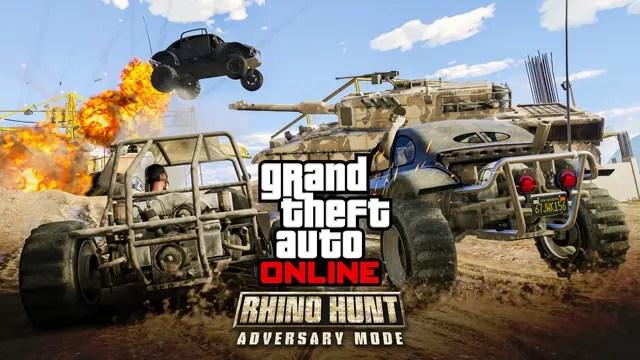 GTA Online Caza de Rhinos