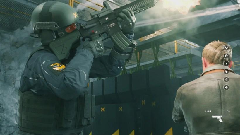 Los detalles in-game son alucinantes. Mirad el arma...