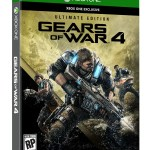 Gears of War 4 Ultimate Edition Box Shot Right Angle