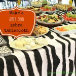 Safari Tablecloth and Cake & Giveaway!