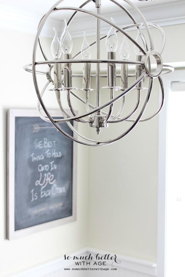 Restoration Hardware chandelier somuchbetterwithage.com
